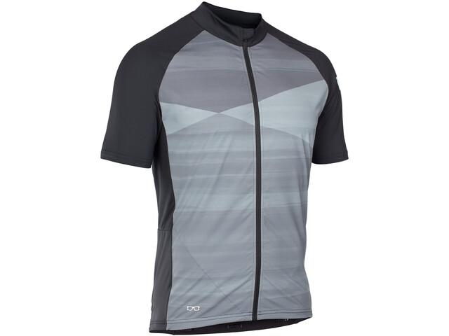 ION Paze Kortærmet cykeltrøje Herrer grå/sort | Trøjer
